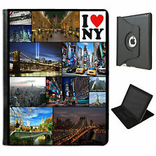 Personalised Custom Photo Collage Photos Leather Case for iPad 2,3,4 Mini & Air