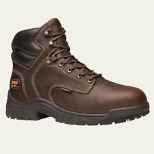Timberland PRO Boots Mens TiTAN Composite Safety Toe Waterproof Brown Work Boot