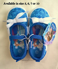 NEW Baby Toddler Baby Girls Frozen Mary Jane Walking Shoes Elsa Anna 5, 6, 7, 10