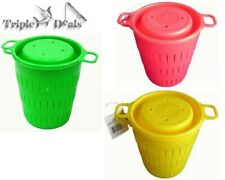 1 x Seahorse Berley Bucket - Screw Top Lid - Choose Your Colour - Brand New