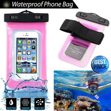 Snow/Waterproof Underwater Dry Pouch Case Bag Cover Pack For Cell Phone MP3/MP4