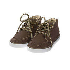 GYMBOREE HOMETOWN HERO Toddler Boys NWT Canvas Sneaker Shoes Brown 11 13