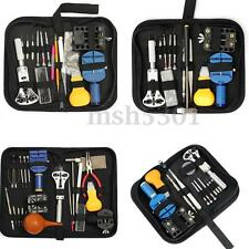 Watch Link Opener Repair Remover Holder Tool Kit Set Pin Screwdriver Wrench