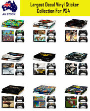 Decal Vinyl Skin Protection Sticker for Playstation4 PS4  console & Controller A