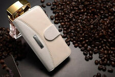 Magnetic Flip Luxury Leather Wallet Card Solt Case Cover for Apple iPhone 5/5S