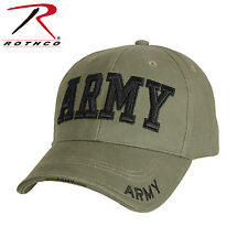 Rothco Deluxe Army Embroidered Low Profile Insignia Cap  - 9508