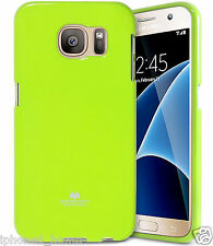 Genuine MERCURY Goospery Lime Green Soft Jelly Case Cover For Samsung Galaxy S6