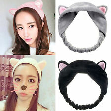 Hottest Female Cat Ear Hairband Head Band Headdress Hair Accessories Makeup Tool