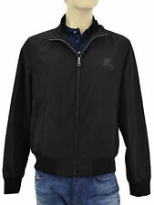 $665 BURBERRY Brit Black BRADFORD Mens Bomber Jacket NEW COLLECTION