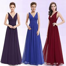 Hot Ladies Long Evening Bridesmaid Party Cocktail Prom Dresses 09016 Ever Pretty