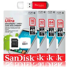 SanDisk Ultra MicroSD HC SDXC Class10 Flash Memory Card Mobile w USB Card Reader