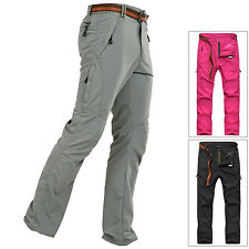 Women Anti-UV Pants Outdoor Quick Dry Breathable Hiking Wicking Stretch Trousers