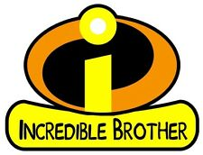 Incredibles BROTHER Iron On T Shirt Fabric Transfer #23