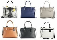 NEW! REED by Reed Krakoff Large Belted Handbag Satchel Tote - Limited Edition