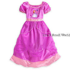 Disney Store Deluxe Princess Sofia The First Purple Nightgown Girls Sz 4 5 6 NWT