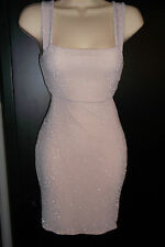 BRAND NEW NUDE MISS SELFRIDGE SPARKLE PARTY DRESS PERFECT FOR ALL OCCASIONS