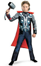 LICENSED CHILD BOYS AVENGERS THOR MUSCLE FANCY DRESS HALLOWEEN BOOK WEEK COSTUME