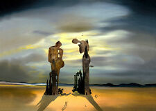 Salvador Dali Archeological reminiscence canvas print giclee 8X12&12X17