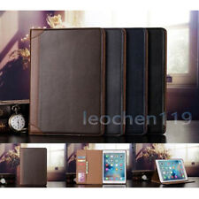 Folio Wallet Leather Stand Smart Auto Sleep/Wake Case Cover For iPad