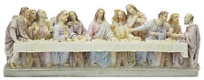THE LAST SUPPER JESUS AND DISCIPLES VERONESE HAND CRAFTED STATUE REALLY STUNNING