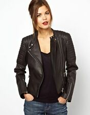 NEW Womens 100% Leather Lambskin Jacket Coat, Made to your Measurements - WJ74