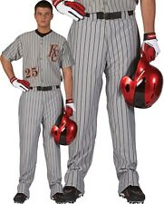 Rawlings Men's Relaxed Fit Pinstripe Baseball Pants, BP95MR, 4 Colors listed!