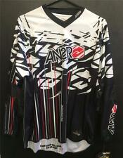 NEW ANSWER RACING 'TUCKER ROCKY' JERSEY - MX * BMX - BLACK/WHITE - ADULT XLARGE