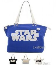 Fabric Tote Bag Star Wars Samantha Thavasa R2-D2 C-3PO Darth vader Charm Large