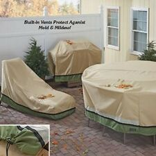 Sure Fit Outdoor Slipcovers Patio Furniture ALL SIZES Table Chair Chaise Grill