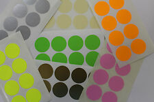 COLOUR CODE STICKERS 25MM ROUND - 168 LABELS PER PACK