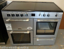 Leisure CK100C210S Cookmaster 100cm 5 Burners Electric Range Cooker Silver (905)