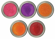 Jarware Mason Canning Jar Jelly Jam Lids 4 PACK - 5 Fruit Berry Lid Choices