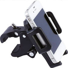 UK Universal Adjustable GPS Phone Holder Motorcycle Bike Bicycle Handlebar Mount