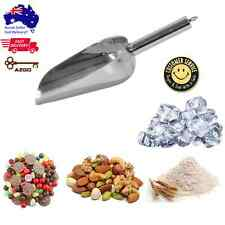 AZ SELLER Scoop for Ice Flour Candy Sweets Nuts Stainless Steel Scraper Scooper