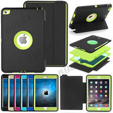 Extreme Armor Heavy Duty Shockproof Rugged Hard Case Stand Smart Cover For iPad