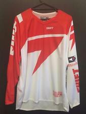 NEW SHIFT MX FACTION 'SKYLABS' JERSEY - RED/WHITE - MX * BMX - ADULT XXLARGE