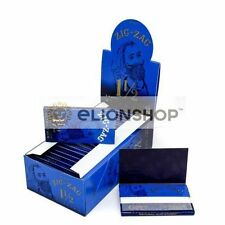 Cigarette Rolling Papers ( Zig Zag Blue Ultra Thing 1 1/2 1.5 ) Made In France Z