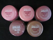 2 Pack Maybelline Dream Mousse Blush~Pick 10, 20, 60 or Bronzers 10, 20!