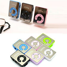 WOW Cool Style Mini Clip USB MP3 Music Player Support To 32GB Micro SD TF Card