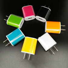 Universal AC Wall Charger USB Power Adapter For iPhone iPod Samsung LG US Plug