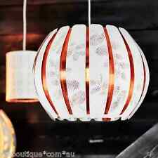IKEA OVERUD Pendant lamp rosegold Chandeliers Ceiling light Lamp shade W/WO Cord