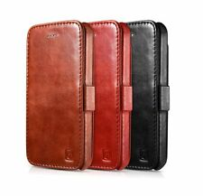 Vintage Genuine Leather Flip Wallet Case Cover Stand for Apple iPhone SE 5 5S