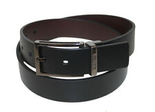 NEW kenneth cole LEATHER CASUAL DRESS BELTS REVERSIBLE BROWN/BLACK ONLY $28.99
