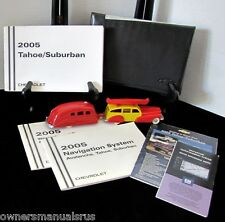 2005 Chevrolet Tahoe/Suburban with Navigation Owners Manual Set #O68