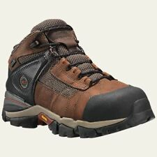"""Timberland Pro Boots Mens 4"""" Hyperion XL Alloy Safety Toe Waterproof Brown"""