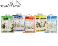 140 Pce Assorted Size Fishing Hook Pack in a 7 Compartment Fishing Tackle Tray