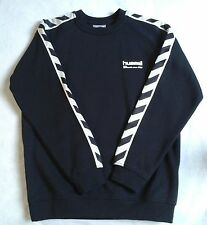 HUMMEL STILL AUTHENTIC SWEAT SHIRT BLACK  KIDS AGE 12 (HEIGHT 152CM)  BNWT