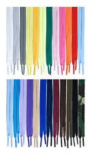 """Flat Athletic 27"""",36"""",45"""",54 inches Sneaker Shoelaces Width(8mm) 23 Color 1Pairs"""