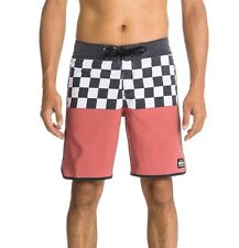 NWT Quiksilver OG Scallop Board shorts Men 32 40 Boardshorts Chequer Trunks