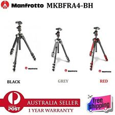 Genuine Manfrotto MKBFRA4-BH Befree Compact Lightweight Tripod Ball Head & Case